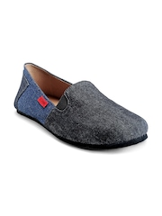 Funk Men Black & Blue Casual Shoes