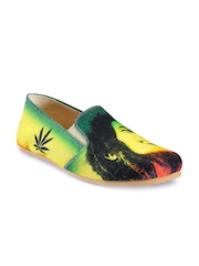 Funk Men Multi-Coloured Printed Casual Shoes