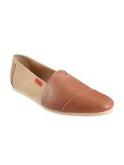 Funk Men Tan Brown Casual Shoes