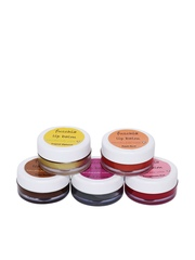 Getitall Set Of 5 Lip Balms Fuschia