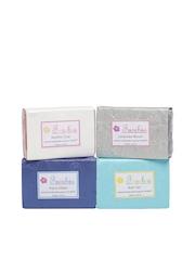 Fuschia Unisex Pack of 4 Natural Handmade Soaps