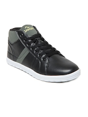 G Sports Gamon Men Black Rockstar Casual Shoes