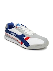G Sports Men White Chelse Casual Shoes