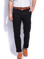 GANT Men Black Soho Narrow Fit Trousers