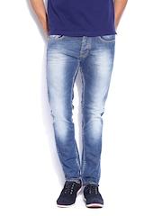 GAS Men Blue Norton Carrot Fit Jeans