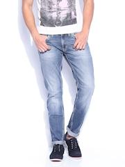 GAS Men Blue Slim Fit Jeans