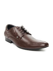 GAS Men Brown Parker Leather Formal Shoes