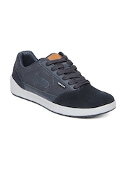 GAS Men Blue Route Casual Shoes