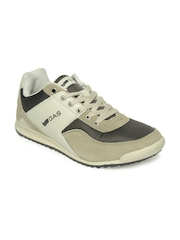 GAS Men Brown and Beige Casual Shoes