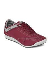 GAS Men Maroon Casual Shoes