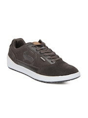 GAS Men Brown Route Casual Shoes