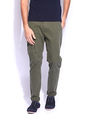 GAS Men Green Trousers