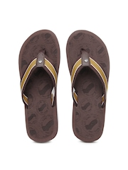 GAS Men Brown Flip Flops