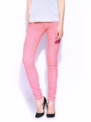 GAS Women Pink Sumatra Jeggings