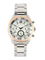 Giordano Men Cream Dial Watch