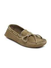 Ganuchi Men Light Brown Boat Shoes