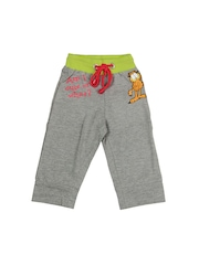 Garfield Girls Grey Melange Capris