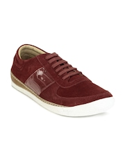 Gas Men Red Cutback Shoes