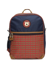 Gear Kids Navy Blue School Bag