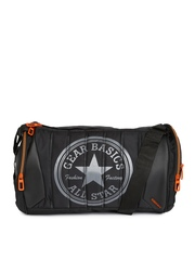 Gear Unisex Black Duffle Bag
