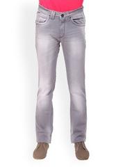 Gesture Jeans Men Grey Slim Fit Jeans