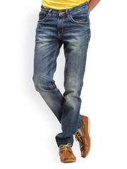 Gesture Jeans Men Blue Slim Fit Jeans