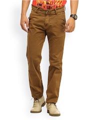 Gesture Jeans Khaki Slim Fit Trousers