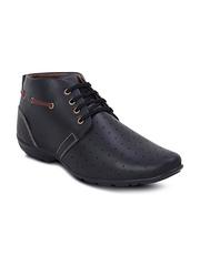 Get Glamr Men Black Casual Shoes