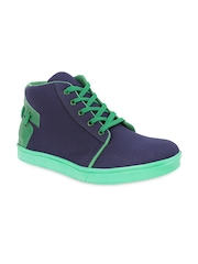 Get Glamr Men Blue & Green Casual Shoes