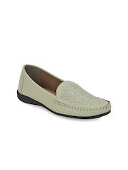 Get Glamr Women Beige Loafers