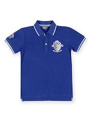 Gini & Jony Boys Blue Polo T-shirt