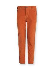 Gini & Jony Boys Rust Brown Trousers