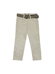 Gini and Jony Boys Beige Trousers