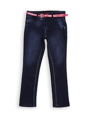 Gini and Jony Girls Navy Jeans