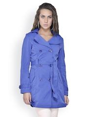 Gipsy Women Royal Blue Coat