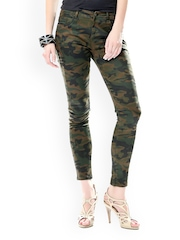 Glam and Luxe Women Multicoloured Printed Jeans