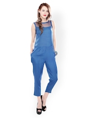 Glam and Luxe Women Blue Jumpsuit
