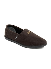Gliders Men Brown Monark Casual Shoes