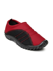 Gliders Men Red & Black Casual Shoes