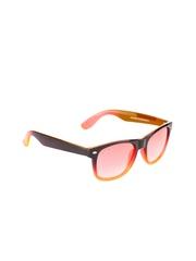 Unisex Orange Sunglasses 4303C1-14 Glitters