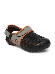 Globalite Men Black Parko IV Sandals