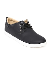 Globalite Men Black Sneakers