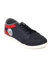 Globalite Men Navy Canvas Shoes