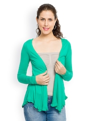 Globus Women Green Shrug