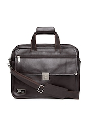 Gloss Italy Men Brown Laptop Bag