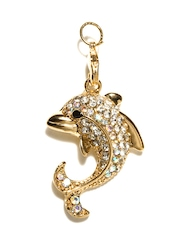 Golden Peacock Gold Plated Dolphin Pendant