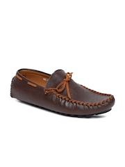 HARRY HILL Men Brown Boat Shoes
