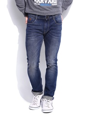 HARVARD Men DS Indigo Skinny Fit Classroom Casual Jeans