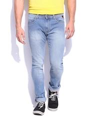 HARVARD Men Indigo Skinny Fit Varsity Jeans