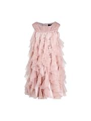 HERBERTO Girls Pink A-Line Dress